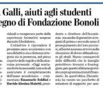 Aiuti agli studenti Accademia Galli